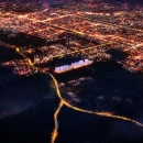 Bharti Land Masterplan Night View