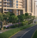 Bharti Land Boulevard View