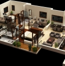 Jaypee Floor plan Render-BLOCK-P