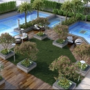 Vipul Club Pool Aerial